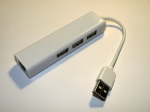 USB LAN переходник с USB хабом